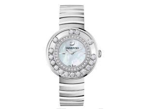 Swarovski Lovely Crystals - White Metal Ladies Watch 1160307