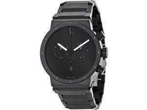 Movado Sapphire Synergy Black Chronograph Mens Watch 0606801