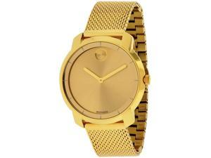 Movado Bold Gold-Tone Ladies Watch 3600242