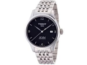 Tissot Le Locle Chronometre Men's Black Dial Stainless Steel Watch