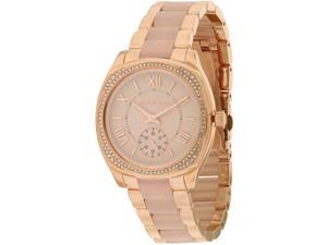 Michael Kors Bryn Rose Gold-Tone Ladies Watch MK6135