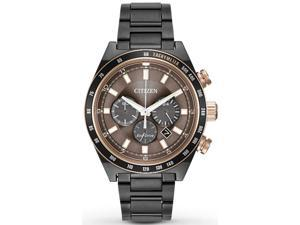 Citizen Eco-Drive Sport Chronograph Mens Watch CA4207-53H