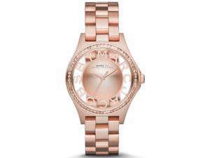 Marc by Marc Jacobs Henry Rose Gold-Tone Ladies Watch MBM3339