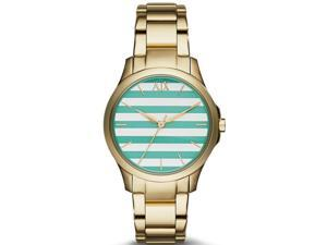 Armani Exchange Gold-Tone Ladies Watch AX5233