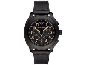 Emporio Armani Leather Mens Watch AR6061