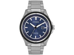 Citizen Eco-Drive Ti+IP Mens Watch AW1450-89L