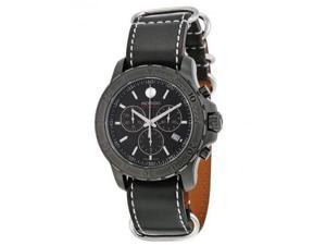 Movado Series 800 Leather Chronograph Mens Watch 2600131