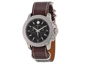 Movado Series 800 Leather Chronograph Mens Watch 2600130