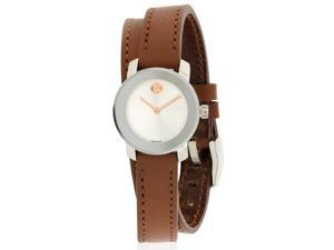 Movado Bold Leather Ladies Watch 3600331