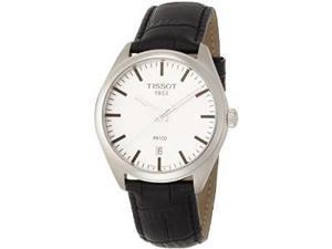 Tissot PR100 Leather Mens Watch T1014101603100