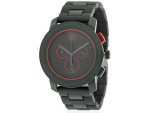 Movado Bold Grey Ion Chronograph Mens Watch 3600272