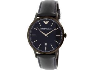 Emporio Armani Leather Mens Watch AR2479
