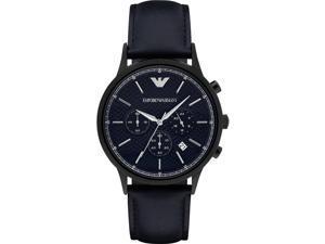 Emporio Armani Leather Mens Watch AR2481