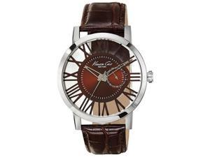 Kenneth Cole New York Transparency Leather Mens Watch 10020811