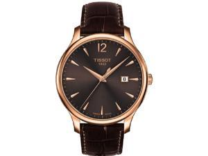 Tissot Tradition Leather Ladies Watch T0636103629700