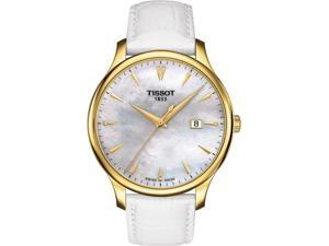 Tissot Tradition Leather Ladies Watch T0636103611600