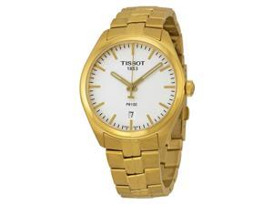 Tissot PR100 Gold-Tone Mens Watch T1014103303100