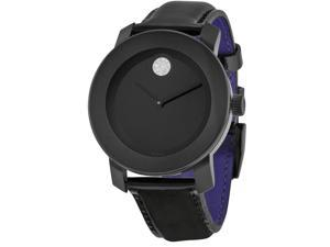 Movado Bold Leather Ladies Watch 3600353