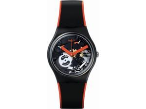 Swatch RED FRAME Unisex Watch GB290