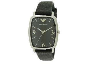 Emporio Armani Retro Leather Mens Watch AR2490