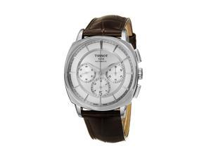 Tissot T-Lord Automatic Chronograph Leather Mens Watch T0595271603100