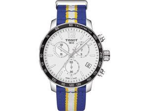 Tissot Quickster NBA Golden State Warriors Chronogaph Mens Watch T0954171703715