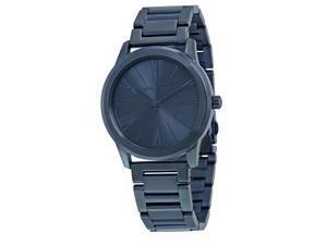 Michael Kors Hartman Blue Stainless Steel Ladies Watch MK3509