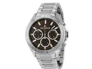 Tommy Hilfiger Hudson Stainless Steel Chronograph Mens Watch 1791229