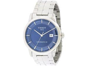 Tissot Luxury Automatic Stainless Steel Mens Watch T0864071104100