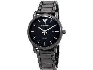 Emporio Armani Black Stainless Steel Mens Watch AR1508