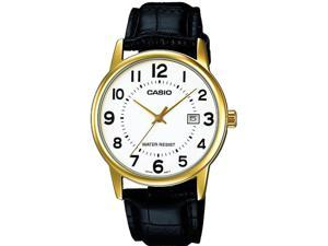 Casio Leather Mens Watch MTP-V002GL-7BUDF