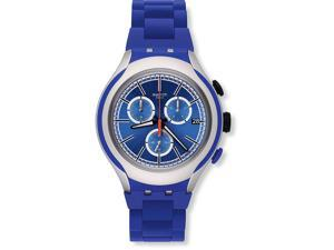 Swatch BLUE ATTACK Unisex Watch YYS4017AG