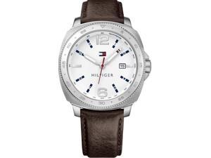 Tommy Hilfiger Leather Mens Watch 1791432
