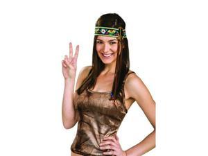 60'S 70'S Hippie Peace Sign Adult Costume Headband