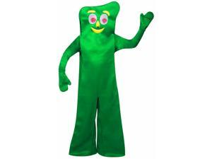 Gumby Costume Adult Standard