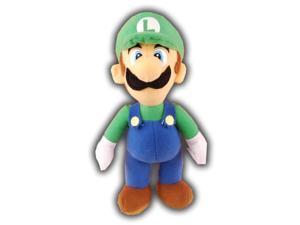 "Super Mario Bros Nintendo 7"" Plush Wave 2 Luigi"