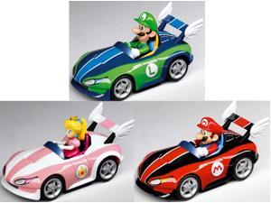 Super Mario Brothers Nintendo Wii Pull And Speed Karts Set Of 3