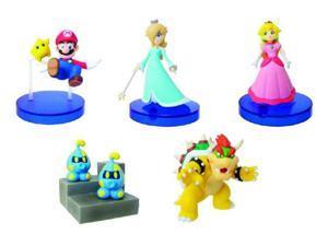 Super Mario Galaxy Desk Top Figures Set of 5