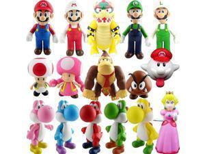 Super Mario Bros PVC Figure Collectors Set of 16