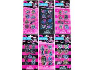 Monster High Liquid Sticker Set Of 6 Packs