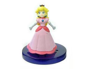 Super Mario Galaxy Desk Top Figure Gachaball Princess Peach