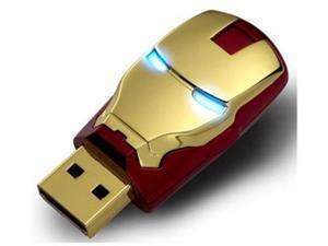 Marvel IFT-64106-C The Avengers USB 8GB Flash Drive - Avengers Iron Man