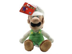 """Super Mario Bros Fire Luigi 6"""" Plush"""