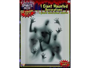 20 Square Ft Ghostly Spirits Halloween Party Decoration One Size