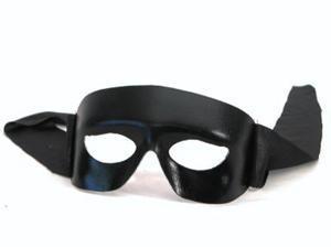 The Western Ranger Costume Eye Mask Adult: Black One Size