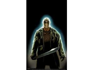Friday The 13Th Jason Voorhees Full Size Halloween Sticker