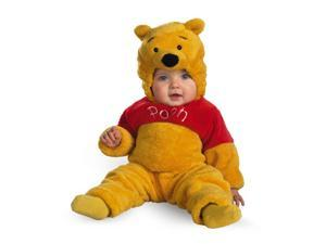 Winnie The Pooh Deluxe Plush Jumpsuit Child Costume Baby 12-18 Months
