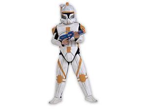 Star Wars Anime Dlx Eva Clonetrooper Commander Cody Kid Costume Small