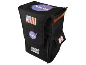 Jr. Astronaut Back Pack Costume Accessory Child: Black One Size