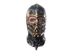 Mortal Kombat Scorpion Deluxe Overhead Costume Latex Mask Adult